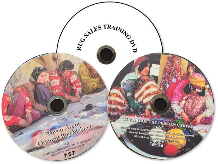 Paul Shaper's rugmaking DVDs