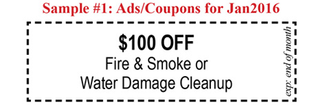 (Click image for complete 12 monthly ads/coupons of sample #1)